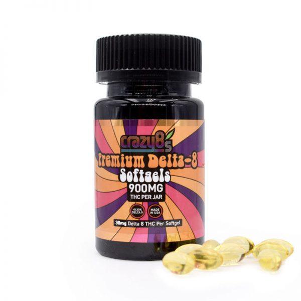 Delta 8 THC Soft Gels